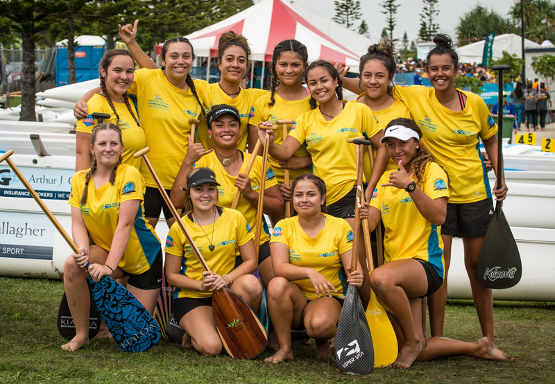 Bayside Outrigger Canoe Club Members